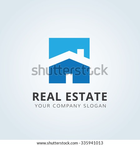 Real estate Logo,home logo,house logo,property logo,vector logo - stock vector