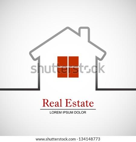 Real Estate Vector - stock vector