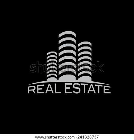 real estate vector design template - stock vector