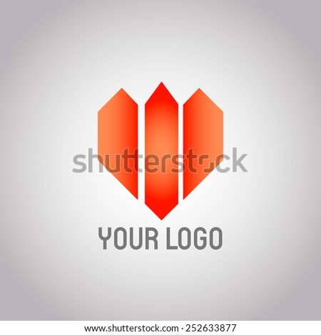 Real Estate vector logo design template. Realty abstract symbol. Business Corporate sign. Financial Stock Exchange concept icon.Vector eps 10 - stock vector