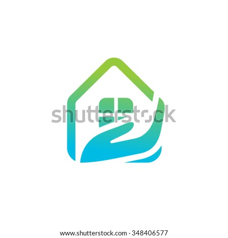 Real Estate Vector Logo Template - stock vector