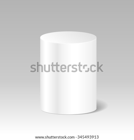 Cylinder stock photos images pictures shutterstock for Cylinder packaging template