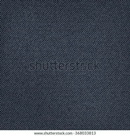 realistic denim blue jeans texture. vintage and retro mode. vector background - stock vector