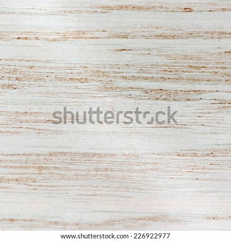Realistic painted wood texture. Vector background for your design. - stock vector