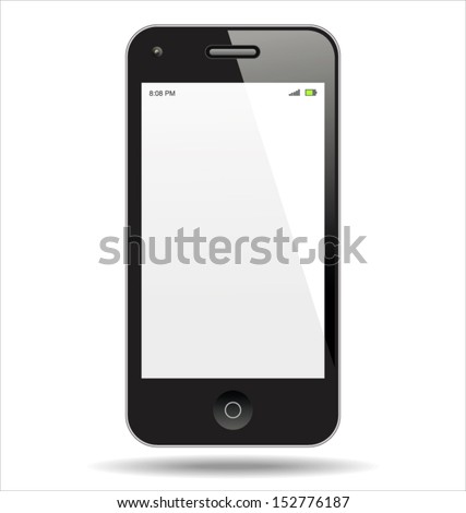 Realistic Smart Phone - stock vector