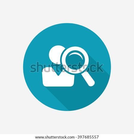 Recruitment vector icon - stock vector