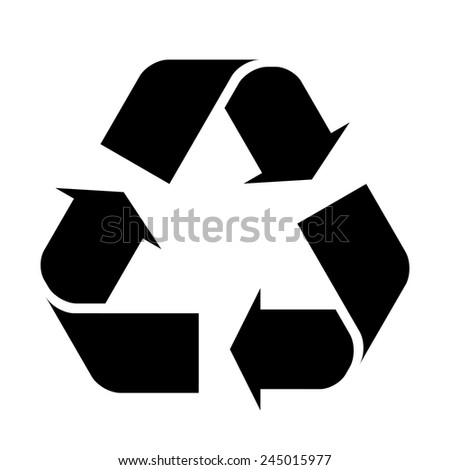 Recycle Sign - stock vector