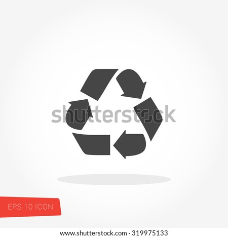 Recycle Symbol / Recycle Symbol Vector / Recycle Symbol Image / Recycle Symbol Graphic / Recycle Symbol Art / Recycle Symbol JPG / Recycle Symbol JPEG / Recycle Symbol EPS / Recycle Symbol AI - stock vector