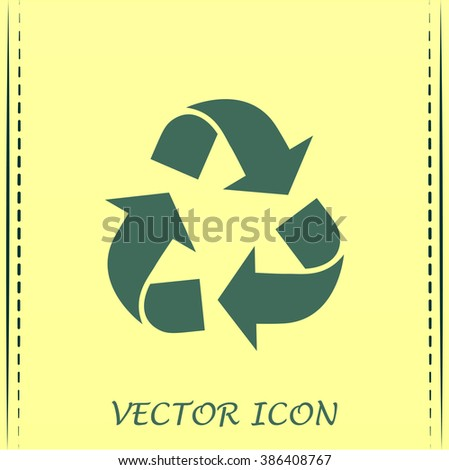 Recycle vector sign - stock vector
