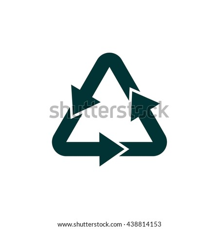 Recycling icon. Recycling icon Vector. Recycling icon Art. Recycling icon eps. Recycling icon Image. Recycling icon logo. Recycling icon Sign. Recycling icon Flat. Recycling icon. Recycling icon app - stock vector