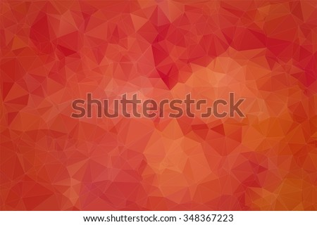 Red abstract background consisting of angular shapes for web design - stock vector