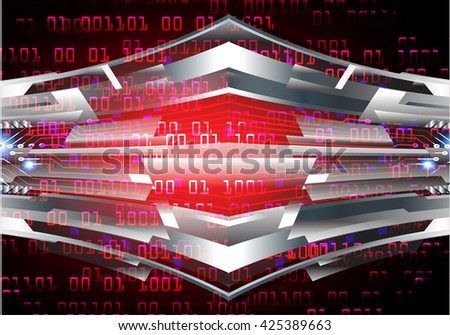 red abstract light hi speed internet technology background illustration, Background conceptual image of digital. Cyber security concept, Cyber data digital,Cyber Technology.vector.scan virus computer - stock vector