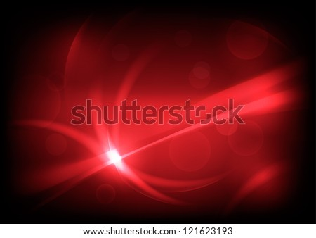 Red abstract vector backgrounds - stock vector