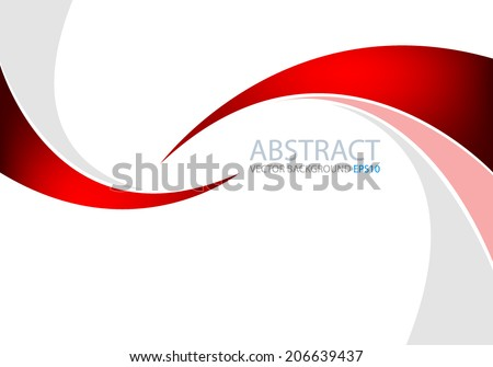 Red and grey line background for text and message modern website design - stock vector