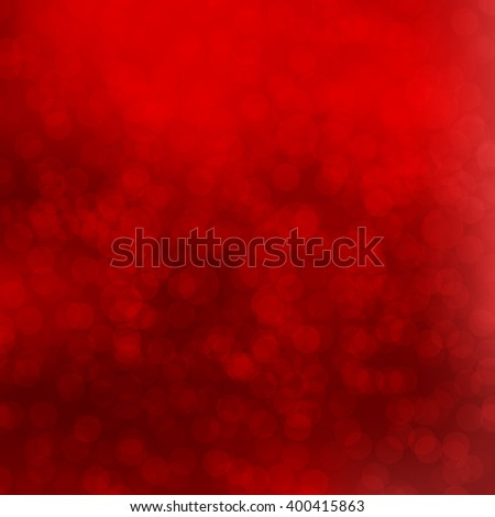 Red Bokeh background with defocused lights. Vector illustration EPS10. Design for your cards, brochures, cover, flyers, banners, posters etc. - stock vector