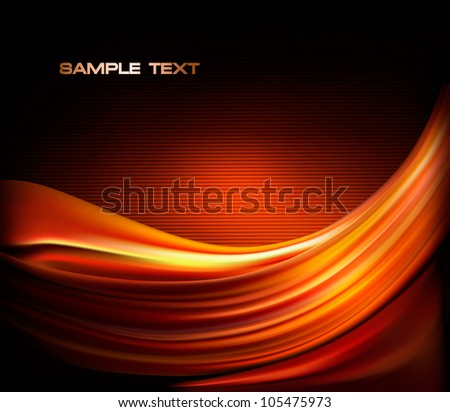 Red business elegant abstract background  Vector illustration - stock vector