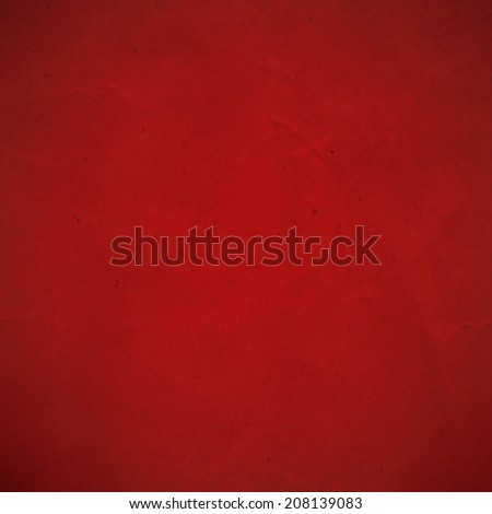 Red Cardboard, With Gradient Mesh, Vector Illustration - stock vector