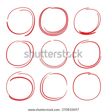 Stock Images similar to ID 282726695 - circle markers hand ...