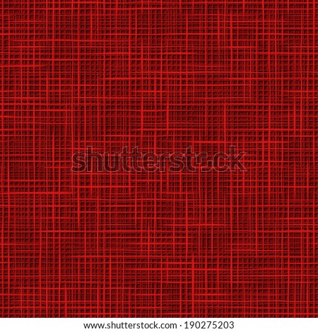 Red Fabric Texture. Seamless pattern. Vector.  - stock vector