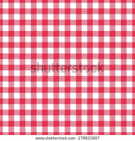 Red Gingham Tablecloth Background Red Gingham Tablecloth