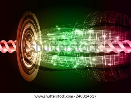 red green pink color abstract technology background for for computer graphic website internet and business - stock vector
