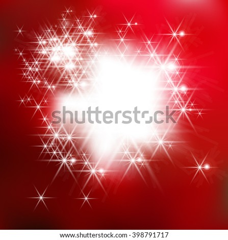 Red.Red Lights.Red Soft.Red Art.Color Red.Red Fantasy.Red Cute. - stock vector