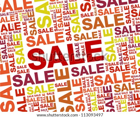 red sale backgorund.red sale backgorund concept - stock vector