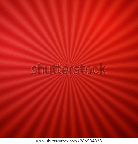 Red shiny backgrounds for design. Abstract retro vintage background of the shining sun rays. Sun. Sunburst, light ray, sunset vector illustration. Silk texture. - stock vector