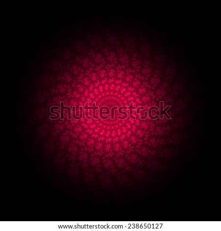 Red wallpaper Pattern, vector - stock vector