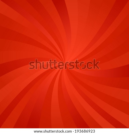 Red whirl pattern background - vector version - stock vector