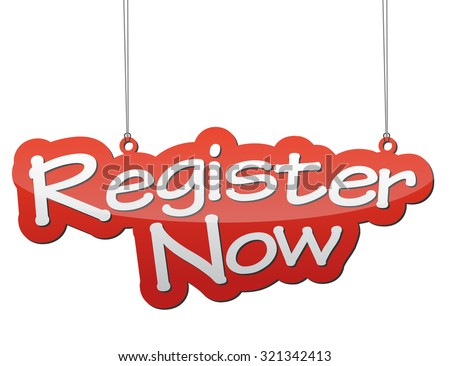 register now, red vector register now, red tag register now, background register now, illustration register now, element register now, sign register now, design register now, picture register now - stock vector