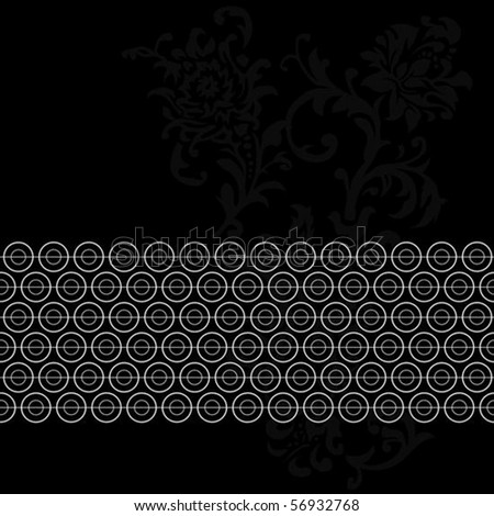Repeating background pattern. The pattern is included as a seamless swatch for easily creating large fills. - stock vector