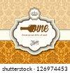 Restaurant card - stock vector