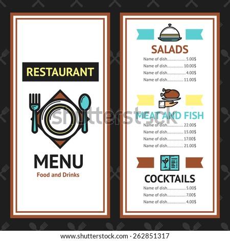 Stock images similar to id 108919226 menu fish for Fish 101 menu