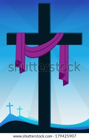 resurrection eps10 - stock vector