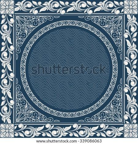 Retro decorative vintage design - stock vector