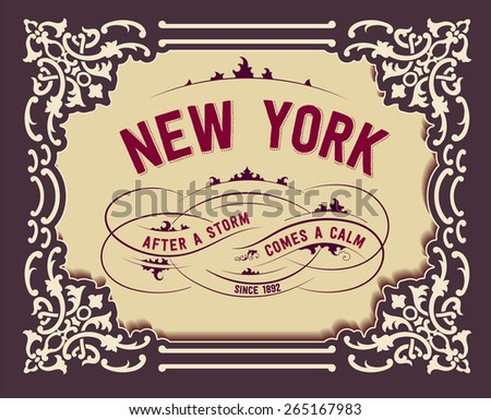 Retro design - stock vector