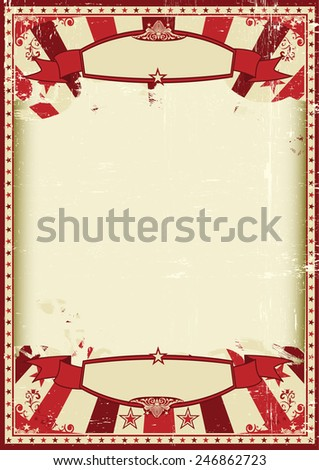retro grunge scratched background. A vintage and retro grunge background with a large empty frame for a poster - stock vector