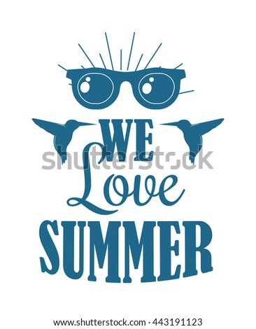 Retro hand drawn summer logo elements badge font designs. Vintage summer logo ornament. Summer logo holidays tropical paradise, sea, sunshine summer logo, weekend tour adventure labels. - stock vector