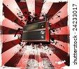 retro music grunge backgrounds - stock vector