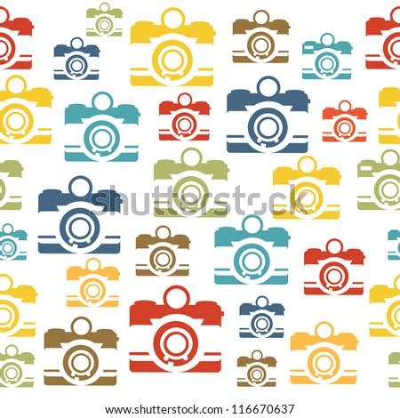 retro pattern design. vector illustration - stock vector