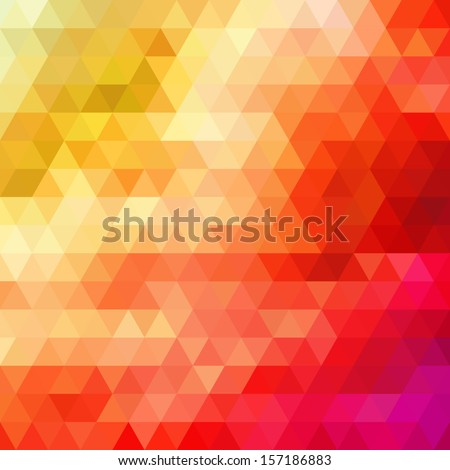 Retro pattern of geometric shapes. Colorful mosaic banners. Geometric hipster retro background with place for your text. Retro triangle background. - stock vector
