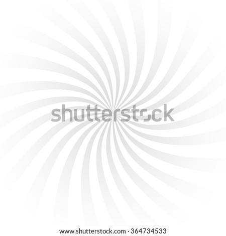 Retro ray background grey light color stylish illustration - stock vector