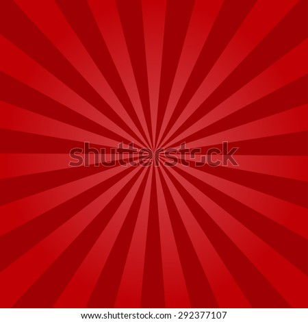 Retro rays background vector illustration - stock vector