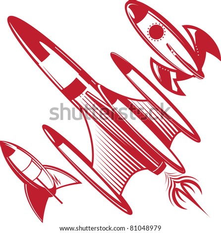 retro rocket stock photos images amp pictures shutterstock