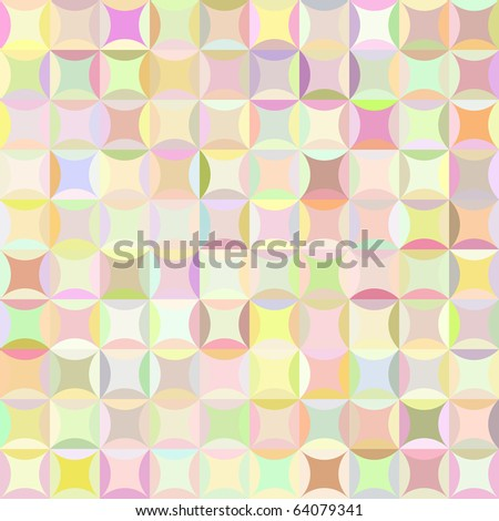 Retro vector pattern - stock vector