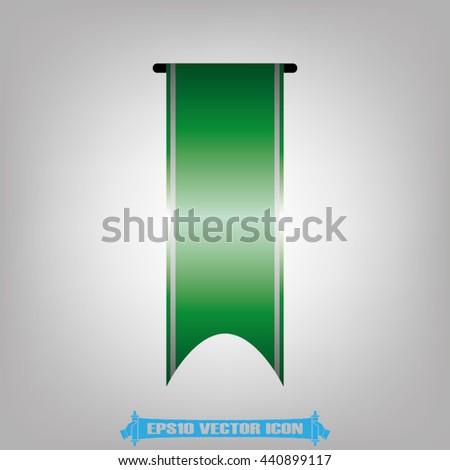 Ribbon icon vector illustration EPS 10. - stock vector