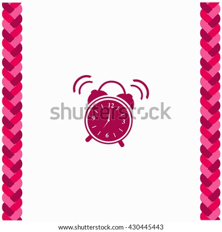 Ringing icon Flat Design. Isolated Illustration. - stock vector