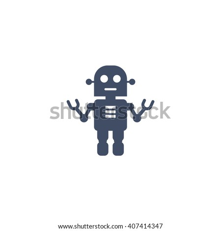 robot Icon, robot Icon Eps10, robot Icon Vector, robot Icon Eps, robot Icon Jpg, robot Icon Picture, robot Icon Flat, robot Icon App, robot Icon Web, robot Icon Art, robot Icon Object - stock vector