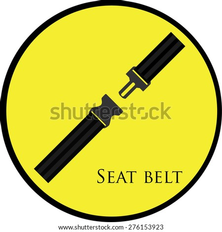 Security And Safety Logo Safety Belt Symbol Security